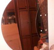 Зеркало с затемнением и полками