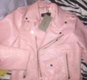 Новая куртка кожаная  Zara