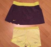 Шорты и юбка для тенниса, р.44-46, Nike