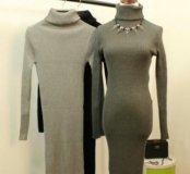 Платье миди, лапша. Новое. 42-46-48