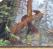 Утро в сосновом лесу. Ковер Новый 1955 год