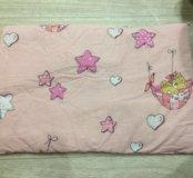 Плоская подушка для новорождённых