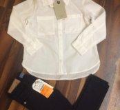 Джинсы+рубашка Zara
