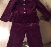 Костюм детский, пиджак и штаны