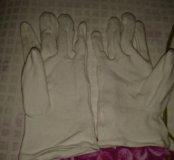 Новые перчатки для маникюра