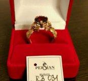 Золотое кольцо ( перстень)новое