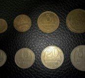 Монеты СССР 1-50 копеек 82,83,84,86 года