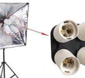 Адаптер-разветвитель на 4 лампы