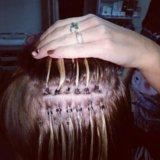 Обучение наращиванию волос.