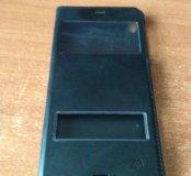 Чехол с окном на Sony Z3