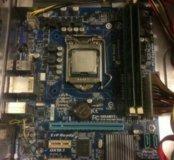 Мат 1155 + проц I5-3470 и 4гб оператив