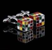 Запонки кубик рубика