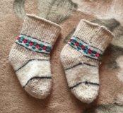 Детские шерстяные носочки малышам