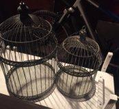Декоративная ( интерьерная) клетка для птиц