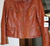 Куртка 48 р-ра кожаная