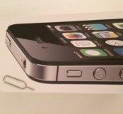 Коробка от iPhone 4s + скрепка