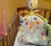 Музыкальная подвеска в детскую кроватку(мобиль)