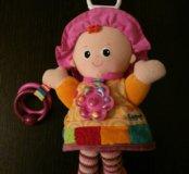 """Развивающая мягкая игрушка """"Моя подружка Эмили"""""""
