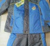 Комплект (куртка и полукомбинезон), новые