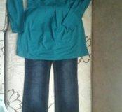 джинсы и туника