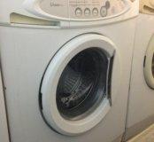 Samsung-S821 стиральная машина б/у. Скол эмали.