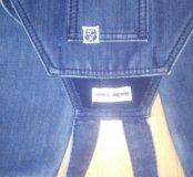 Комбинезон джинсовый теплый
