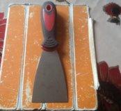Шпательная лопатка 60 мм резиновая ручка