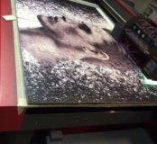 Печать модульных картин на дереве