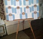 План рассадки гостей (свадьба, детский праздник)