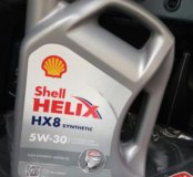 Моторное масло SHELL Helix HX8 Synthetic 5W-30
