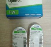 Мягкие контактные линзы на 3 месяца