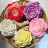 Ручная работа мыльная роза