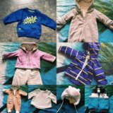Вещи на ребёнка 62-74см