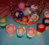 Пасхальные украшения для яиц.