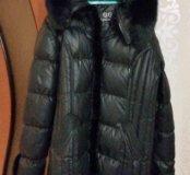Зимняя куртка с мехом норкой