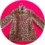 Куртка леопард