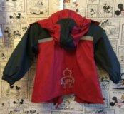 Прорезиненная куртка