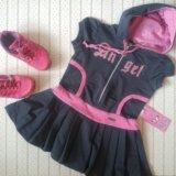 Платья для девочки 104см