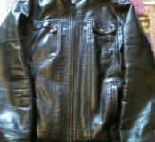 Куртка мужская кожзам