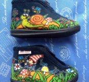 Детские ботиночки тапули новые!