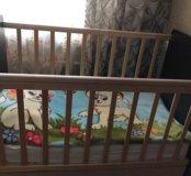 Продам кровать новая с новым матрасом ребенок не с