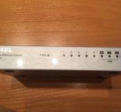 ZyXEL 8-ми портовый интернет разветвитель