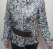 кожаная куртка (новая)