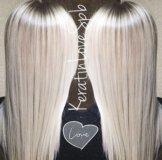 Кератиновое выпрямление волос / Ботокс для волос