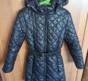 Пальто для девочки 134см