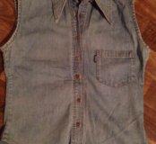 Джинсовая рубашка benson