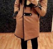 Шерстяное пальто очень тёплое