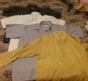 Рубашки 46-47 по вороту