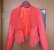 Куртка кожанная. 42-44