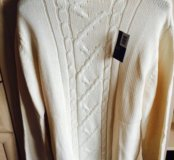 Белый свитер на весну/осень. НОВЫЙ